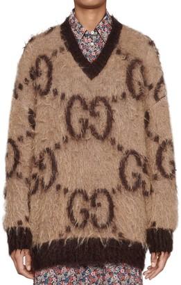 Gucci GG V-Neck Sweater