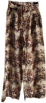 Nanushka Multicolour Cotton Trousers