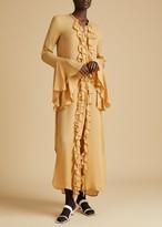 The Callen Dress in Beige