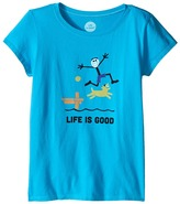 Life is Good Elemental Dock CrusherTM Tee (Little Kids/Big Kids)