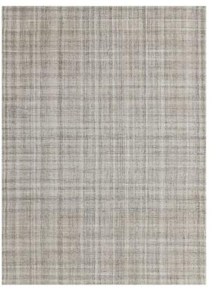 Pottery Barn Aya Hand Tufted Wool Rug - Charcoal