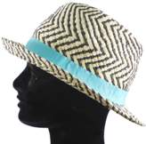 La Fiorentina Straw Hat With Contrasting Ribbon All Around.