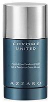 Azzaro Chrome United Alcohol Free Deodorant Stick