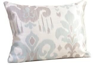Rennie & Rose Design Group Madrid Boudoir/Breakfast Lumbar Pillow & Rose Design Group Color: Sky Blue