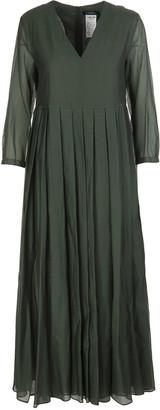 Max Mara Green Corolla Dress
