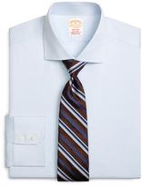 Brooks Brothers Golden Fleece® Madison Fit Textured Windowpane Dress Shirt