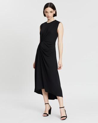 Banana Republic Twist Matte Jersey Dress
