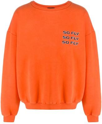 Duoltd oversized So Fly sweater
