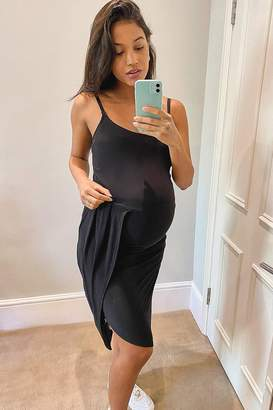 boohoo Maternity Wrap Skirt