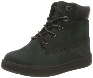 Timberland Unisex Kids' Davis Square 6 Inch (Youth) Classic Boots