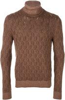 Tagliatore turtleneck knit jumper