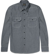 Jean Shop Kevin Cotton-Chambray Shirt