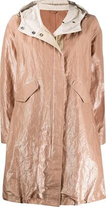 Brunello Cucinelli Oversized Wrinkled-Effect Coat