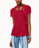 INC International Concepts I.n.c. Cutout-Neck Top, Created for Macy's
