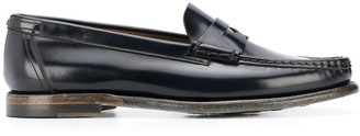Silvano Sassetti Glossed Loafers