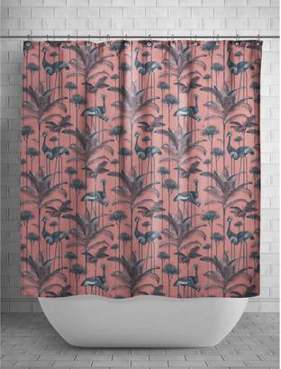 Divine Savages - Crane Fonda Shower Curtain