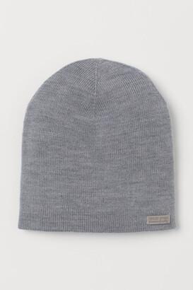 H&M Merino Wool Hat - Gray