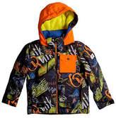 Quiksilver Printed Waterproof Hooded Jacket