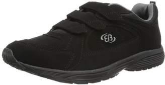 Nordic Bruetting Unisex Adults' Hiker V Walking Shoes, Black Schwarz/Grau