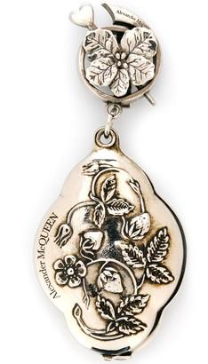 Alexander McQueen Engraved Mirror Charm