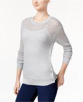 MICHAEL Michael Kors Sheer Metallic Sweater