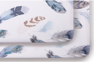 Oilo Featherly Set of 2 Jersey Crib Sheets