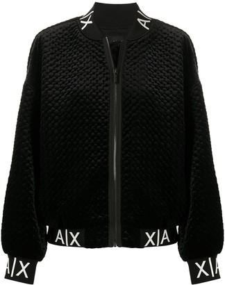 Armani Exchange Textured Bomber Jacket