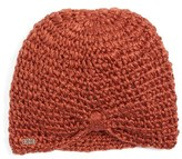 Krochet Kids Girl's The Sophia Knit Beanie - Orange
