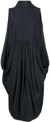 J.W.Anderson Sleeveless Cocoon Midi Dress