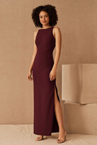 Thumbnail for your product : BHLDN London Crepe Tie-Back Dress By in Purple Size 2