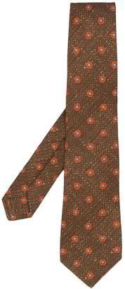 Kiton dot print tie