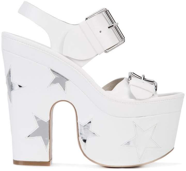 Stella McCartney platform star sandals