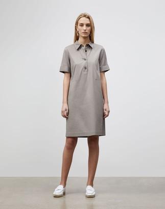 Lafayette 148 New York Conroy Dress In Classic Stretch Cotton
