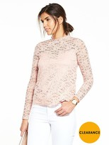 Very Long Sleeve Lace Top