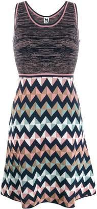 M Missoni short zigzag dress