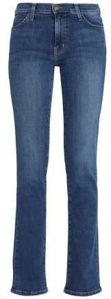 Current/Elliott Mid-Rise Bootcut Jeans