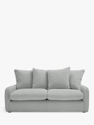 loaf Floppy Jo Medium 2 Seater Sofa by at John Lewis, Clever Softie Pewter