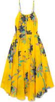 Diane von Furstenberg Floral-print Cotton And Silk-blend Maxi Dress
