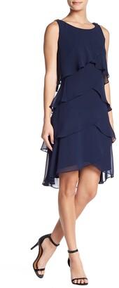 SL Fashions Tulip Tiered Petal Dress