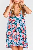 Show Me Your Mumu Floral Sleeveless Tunic Dress
