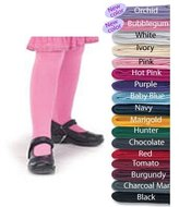 Country Kids Baby Girls' Pima Cotton Tights