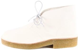 Clarks Desert Boot White