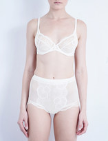 Wacoal Vision stretch-lace underwired bra