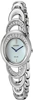 Seiko Women's 'Jewelry' Quartz Stainless Steel Dress Watch (Model: SUP295)