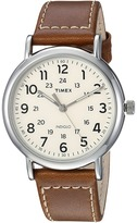 Timex Weekender 40 Leather Strap Watches