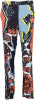 Versace Jagged Baroque Print Trousers
