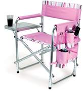Picnic Time Sports Chair - Pink Stripes