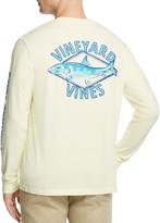 Vineyard Vines Bonefish Diamond Long Sleeve Pocket Tee
