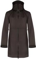 Bottega Veneta technical hooded coat