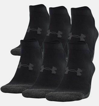 Under Armour Unisex UA Performance Tech Low Cut Socks 6-Pack